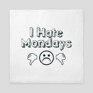 I Hate Mondays Queen Duvet
