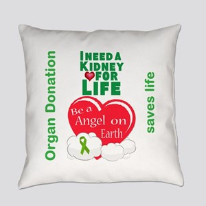 Kidney For Life Everyday Pillow