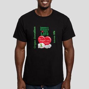 Kidney For Life Men's Fitted T-Shirt (dark)