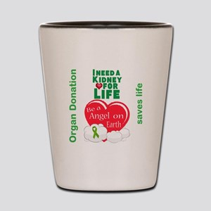Kidney For Life Shot Glass