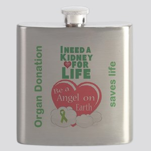 Kidney For Life Flask