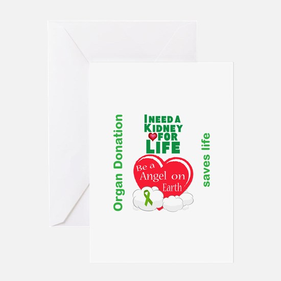 Kidney For Life Greeting Card