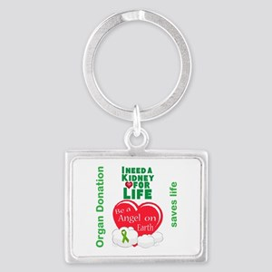 Kidney For Life Landscape Keychain