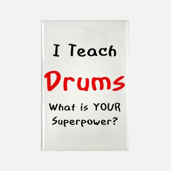 teach drums Rectangle Magnet