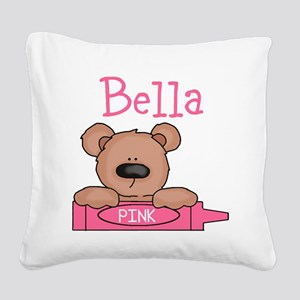 Bella's Square Canvas Pillow