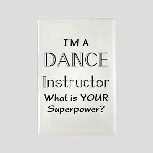 dance instructor Rectangle Magnet