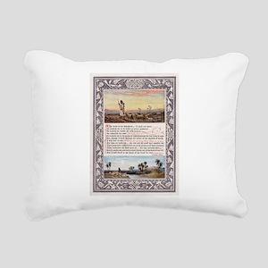 The_Sunday_at_Home_1880_ Rectangular Canvas Pillow