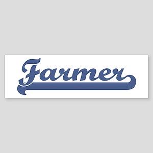 Farmer (sport-blue) Bumper Sticker