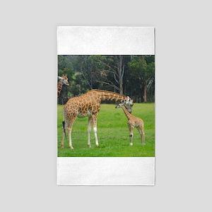 Baby Giraffe Area Rug