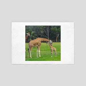 Baby Giraffe 4' x 6' Rug