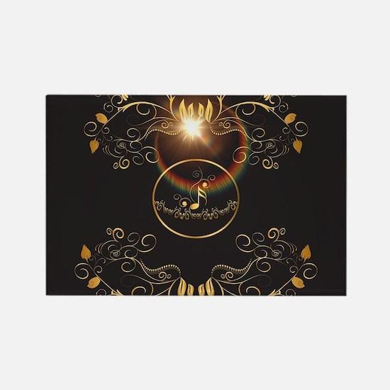 Golden key notes Magnets