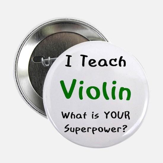 """teach violin 2.25"""" Button"""