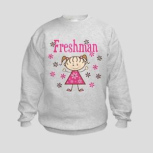 Freshman Girl Kids Sweatshirt