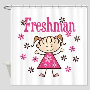 Freshman Girl Shower Curtain