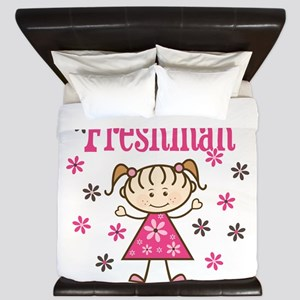 Freshman Girl King Duvet