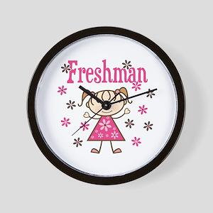Freshman Girl Wall Clock