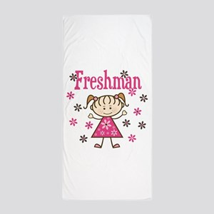 Freshman Girl Beach Towel
