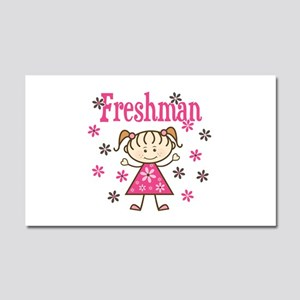 Freshman Girl Car Magnet 20 x 12