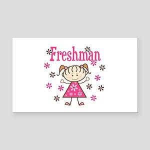 Freshman Girl Rectangle Car Magnet