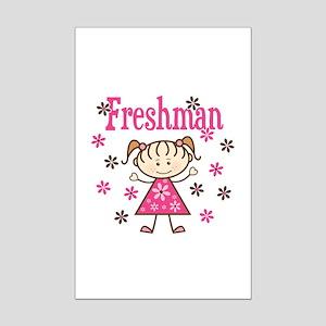 Freshman Girl Mini Poster Print