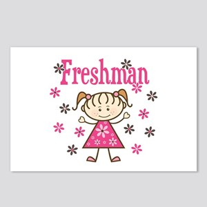 Freshman Girl Postcards (Package of 8)