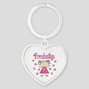 Freshman Girl Heart Keychain