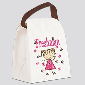 Freshman Girl Canvas Lunch Bag