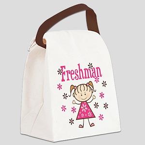 Freshman Girl Canvas Lunch Bag