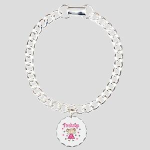 Freshman Girl Charm Bracelet, One Charm