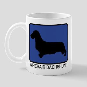 Wirehair Dachshund (blue) Mug