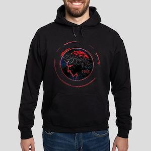 Olympiacos Black Metal Hoodie (dark)