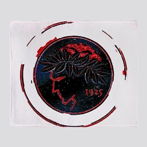 Olympiacos Black Metal Throw Blanket