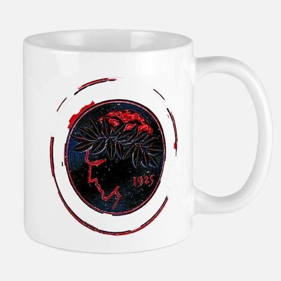 Olympiacos Black Metal Mugs