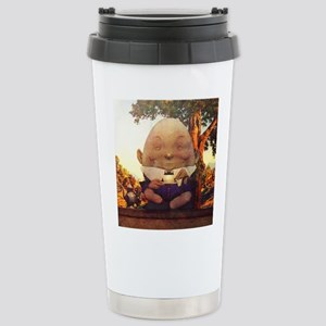 Humpty Dumpty in Wonder Stainless Steel Travel Mug