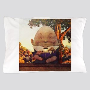 Humpty Dumpty in Wonderland Pillow Case