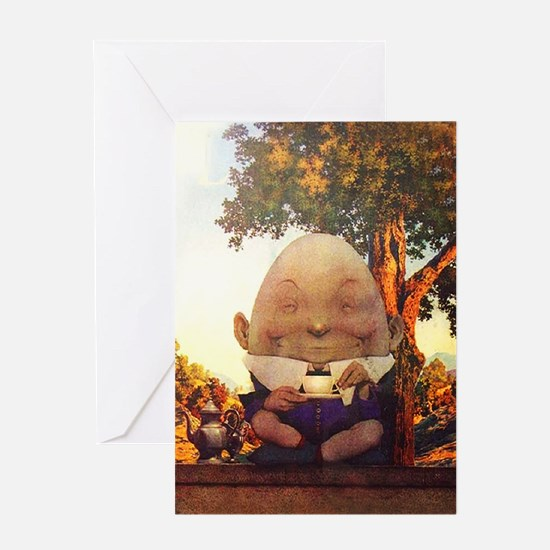 Humpty Dumpty in Wonderland Greeting Card