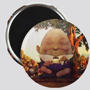 Humpty Dumpty in Wonderland Magnet