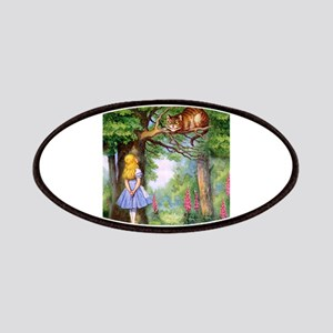 Alice and the Cheshire Cat Patch