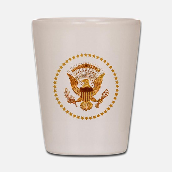 Presidential Seal, The White House Shot Glass