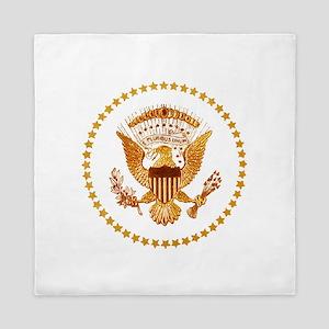 Presidential Seal, The White House Queen Duvet