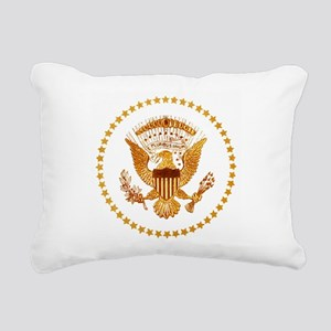 Presidential Seal, The W Rectangular Canvas Pillow