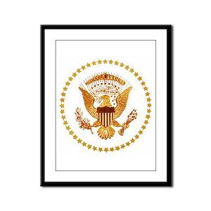 Presidential Seal, The White Ho Framed Panel Print