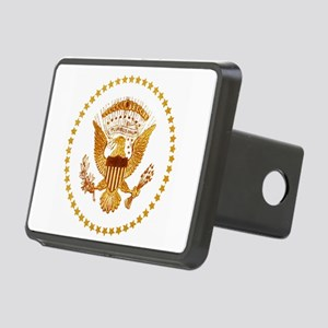 Presidential Seal, The Whi Rectangular Hitch Cover