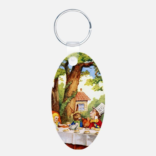 Mad Hatter's Tea Party Keychains