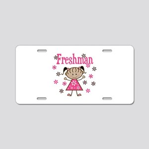 Freshman Girl Aluminum License Plate
