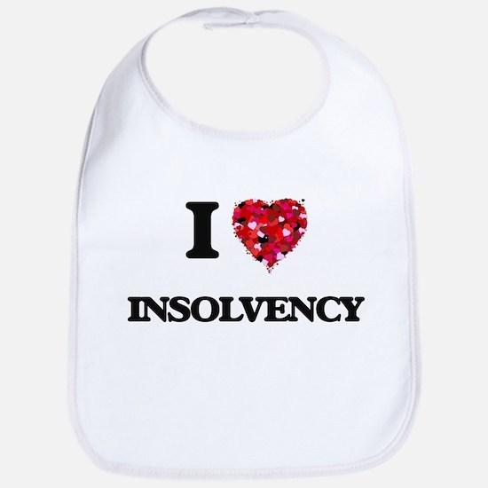I Love Insolvency Bib
