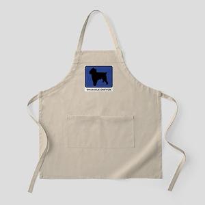Brussels Griffon (blue) BBQ Apron