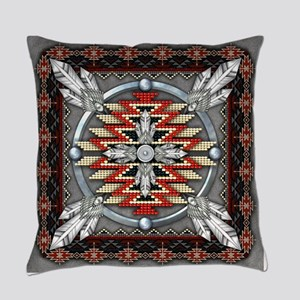 Native American Style Tapestry 4 Everyday Pillow