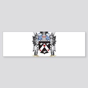 Farmer Coat of Arms - Family Crest Bumper Sticker