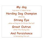 Herding Eye Small Poster